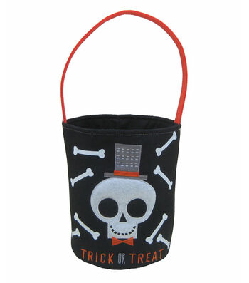 Maker's Halloween Trick or Treat Bag-Skull & Bones