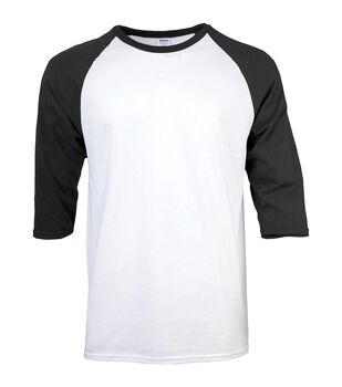 Gildan Extra Large Adult Raglan Crew Sport T-Shirt