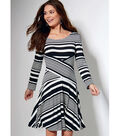 McCall\u0027s Pattern M7538 Misses\u0027 Crossover-Band Top & Dresses-Size 14-22