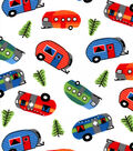 Snuggle Flannel Fabric -Bright Campers