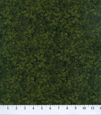 "Legacy Studio Cotton Fabric 44""-Lime Floral"