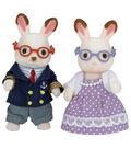 Calico Critters 3.5\u0027\u0027 Hopscotch Rabbit Grandparents