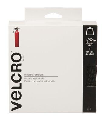 "VELCRO Brand Industrial Strength Tape 2""X10'-Black"