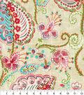 Dena Designs Upholstery Fabric 13x13\u0022 Swatch-Flamingo Frolic Watermelon