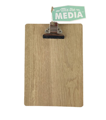 Mix the Media Pegboard Clipboard-Natural