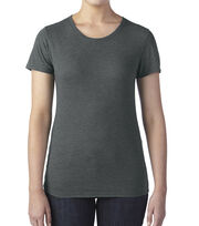 Gildan Ladies Anvil Triblend Tee-Large, , hi-res