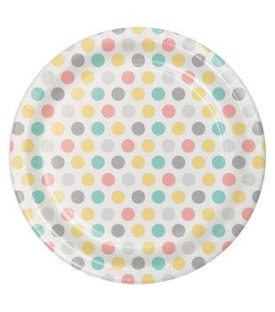 8ct Dessert Plate-Neutral Baby