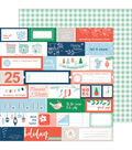 Holiday Vibes Double-Sided Cardstock 12\u0022X12\u0022-Very Merry