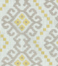 Waverly Multi-Purpose Decor Fabric 55\u0022-Kurta Embroidery/Chai