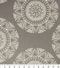 Richloom Studio Upholstery Fabric-Suryan Grey