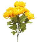 Blooming Autumn 20\u0027\u0027 Mum Bush-Yellow
