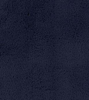Fashion Faux Fur Fabric-Cheshire Navy