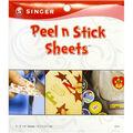 Peel N Stick Sheets 5\u0022X5\u0022 Plus Stencil 6/Pkg