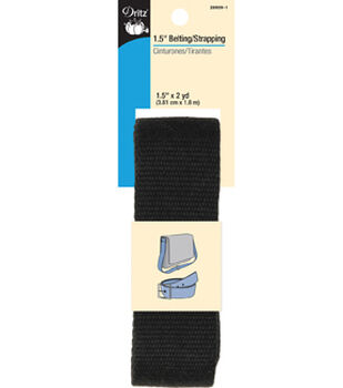 "Dritz 1.5"" Belting Strapping 2yd"