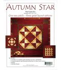 Autumn Star Wall Quilt Kit-22\u0022X22\u0022