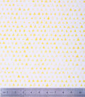 Keepsake Calico Cotton Fabric 43\u0022-Yellow Shaded Triangle