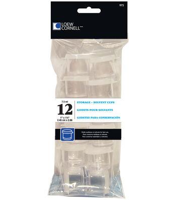 "Loew-Cornell Acrylic Storage Cups 1"" 12/Pk"