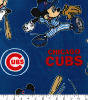 Chicago Cubs Fleece Fabric-Mickey, , hi-res