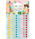 Santoro Kori Kumi II Self-Adhesive Enamel Dots-Multiple Colors