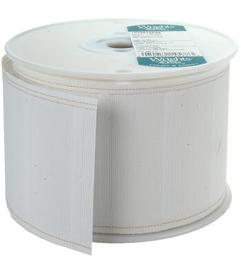 "Wrights Regular Pleater Tape 3-7/8""X30yd"