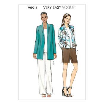 Vogue Patterns Misses Casual-V9011