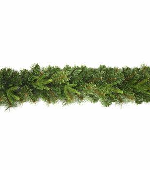 Handmade Holiday Christmas Thick Pine Garland