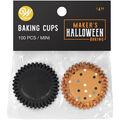 Wilton Maker\u0027s Halloween Mini Baking Cups-Black Dot