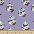 Nightmare Before Christmas Cotton Fabric-Jack Skeleton King