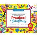 Hayes Preschool Certificate, 30 Per Pack, 6 Packs