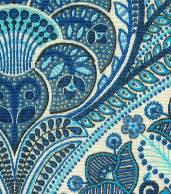"Tommy Bahama Outdoor Fabric 54""-Crescent Beach Riptide"