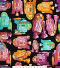 Star Wars Fleece Fabric -Tossed R2D2
