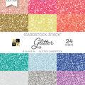 DCWV Pack of 24 6\u0027\u0027x6\u0027\u0027 Cardstock Stack-Glitter