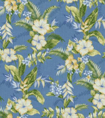 """Solarium Outdoor Fabric 54""""-Freeport Summer"""