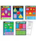 Geometry Learning Charts Combo Pack 5 Per Pack 2 Packs 2 Packs