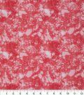Keepsake Calico Cotton Fabric 43\u0027\u0027-Glitter on Coral Snake Skin Crackle