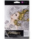 Prima Princesses Cling Stamp 5\u0022X7\u0022-Giselle