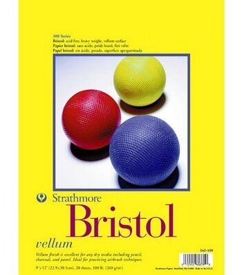 "Strathmore Bristol Vellum 9""X12"" Pad"