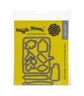 Waffle Flower 9 pk Steel Craft Dies-Sketch Book