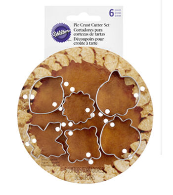 Wilton Mini Pie Cutter Set-Autumn