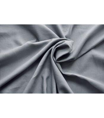 """Linen & Linen Look Fabric 52""""-Frost Grey"""