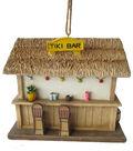 In the Garden Bird House-Tiki Bar