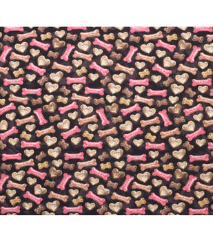 Super Snuggle Flannel Fabric-Tossed Dog Treats