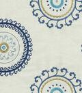 Home Decor 8\u0022x8\u0022 Fabric Swatch-Upholstery-Waverly Ottoman Ornament/Aegean