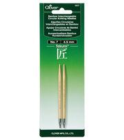 Clover Takumi Interchangeable Circular Knitting Needles Size 7/4.5mm, , hi-res