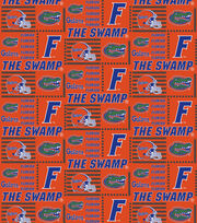 College Teams Florida Gators Cotton Fabric 44''-Patch Logos, , hi-res