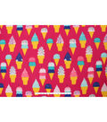 Blizzard Fleece Fabric 59\u0022-Ice Cream Cones