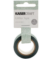 Kaisercraft 0.5''x16.5' Glitter Tape-Mint, , hi-res