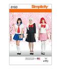 Simplicity Pattern 8160 Misses\u0027 Effy Sews Cosplay Costume-Size D5 (4-12)