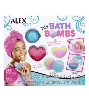 Alex Toys Spa Fizzy DIY Bath Bombs