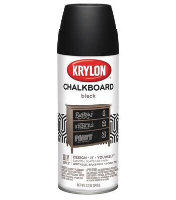 Chalkboard Aerosol Spray 12oz-Black
